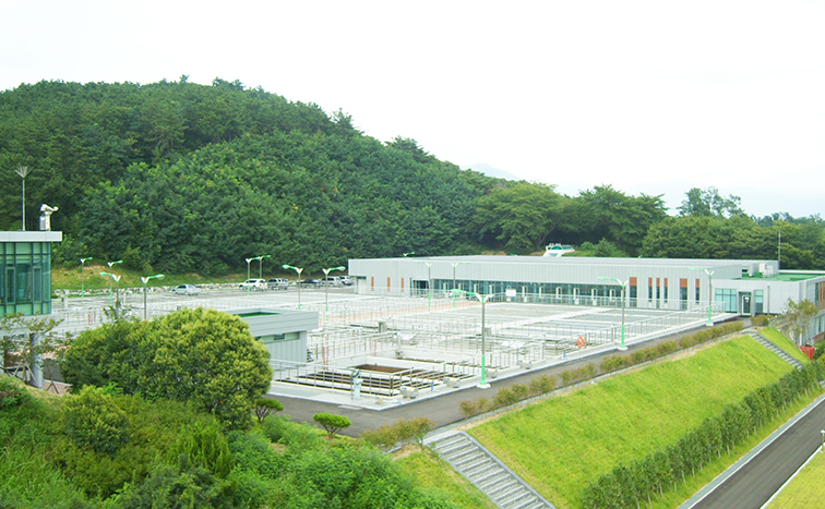 Changwon industrial water supply system