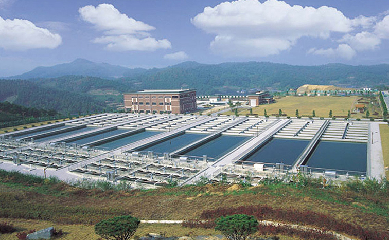 Asan industrial water supply system
