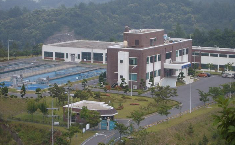 Yeochon industrial water supply system