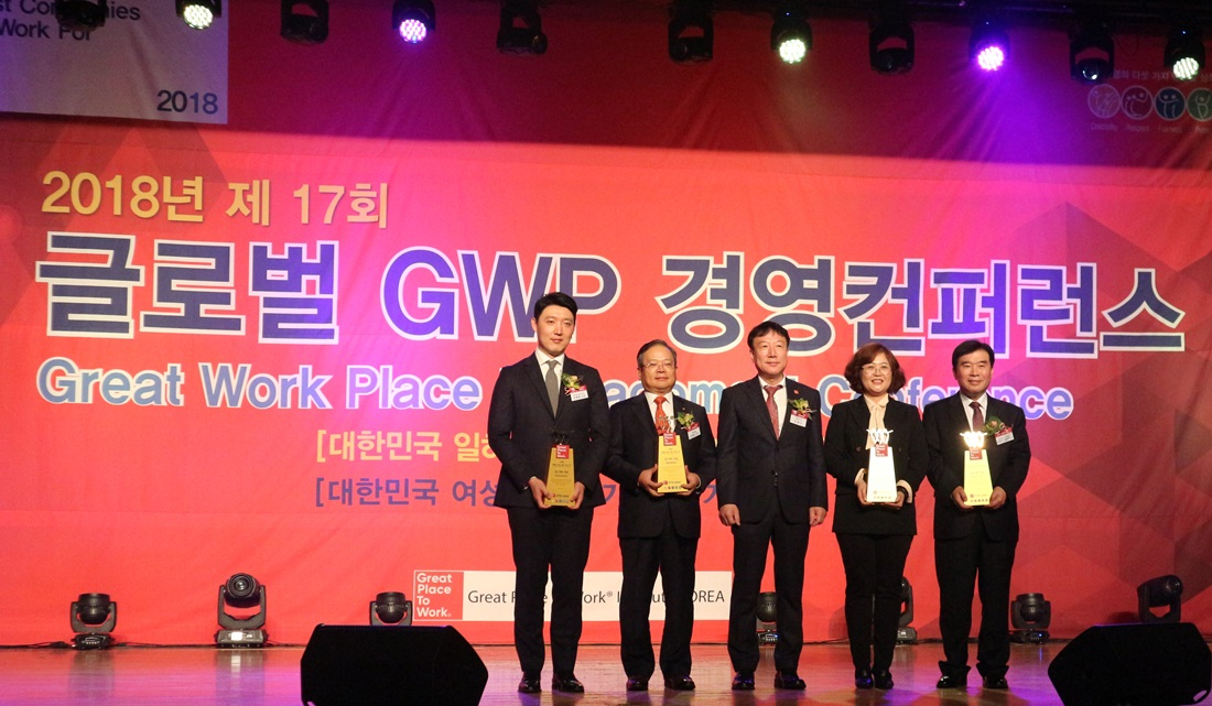 K-water, 'Best Workplaces in Korea' award 6 years in a row